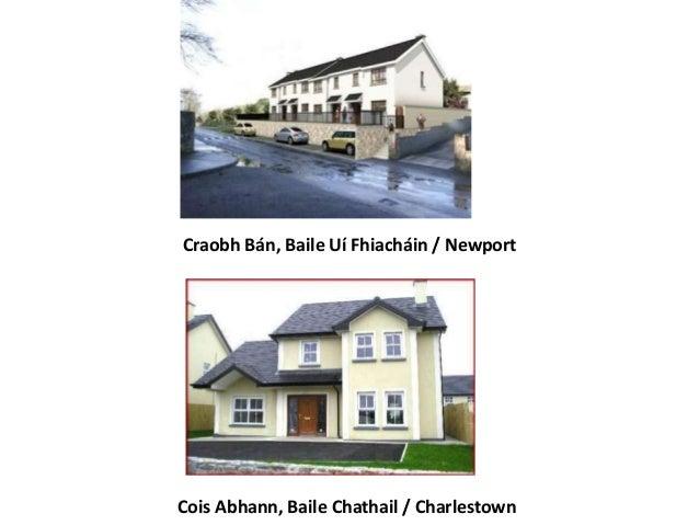 Craobh Bán, Baile Uí Fhiacháin / Newport Cois Abhann, Baile Chathail / Charlestown