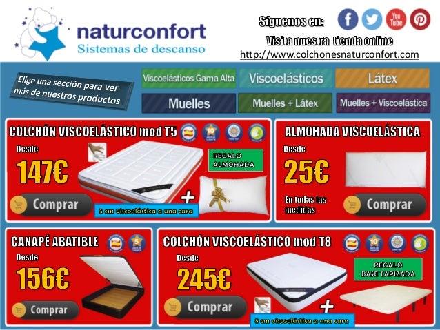 Somier para colchón de látex | Oferta somier y colchón barato | Ofert…
