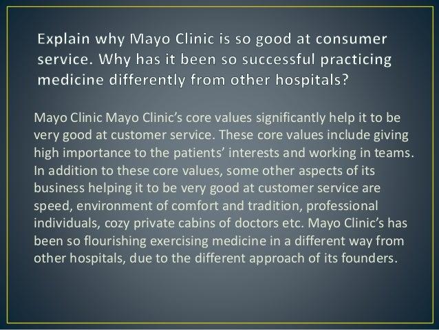 Mayo Clinic Case Study