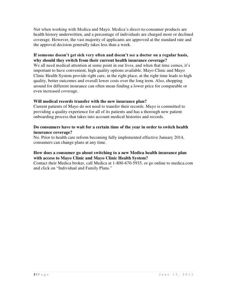 Medica Individual Product Portfolio FAQ