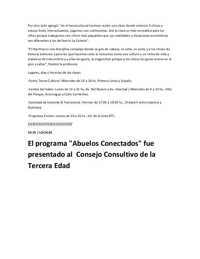 Con la presencia de la Directora de Discapacidad y Tercera Edad Cecilia Herón, del Concejal JoséLuis Itoiz y de representa...