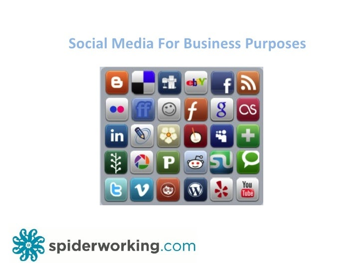 Social Media For Business Purposes