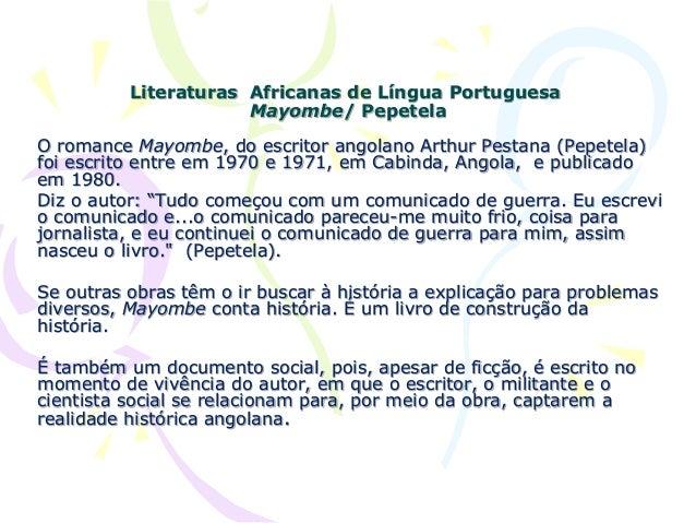 LIVRO DE PEPETELA MAYOMBE PDF DOWNLOAD