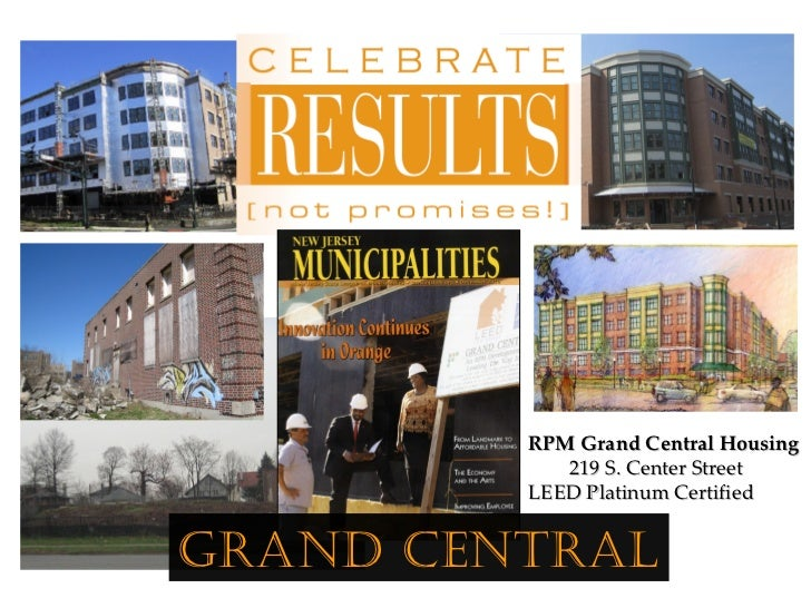 RPM Grand Central Housing            219 S. Center Street         LEED Platinum CertifiedGrand Central