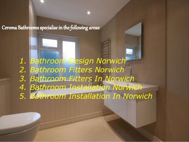 Underfloor Heating And Bathroom Repairs In Norwich Ceroma Bathrooms
