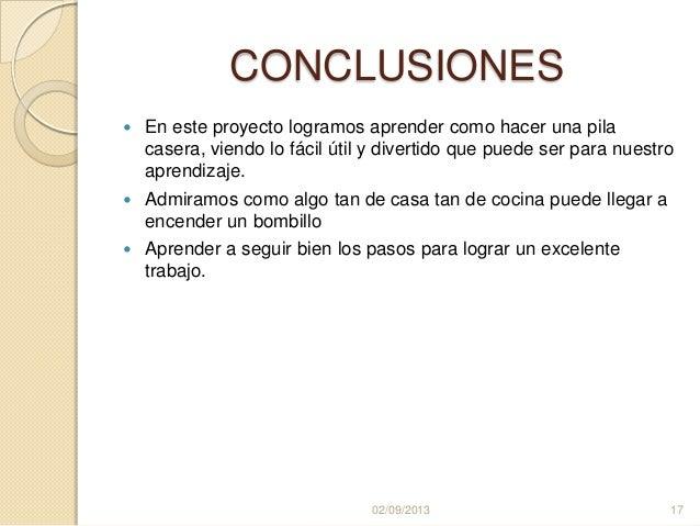 Mayrasilva 10 1 pila casera - Como crear un proyecto ...