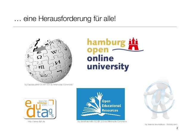 Open Educational Practice  als Schlüssel zu einer veränderten Lehr- und Lernkultur mit Open Educational Resources Slide 2