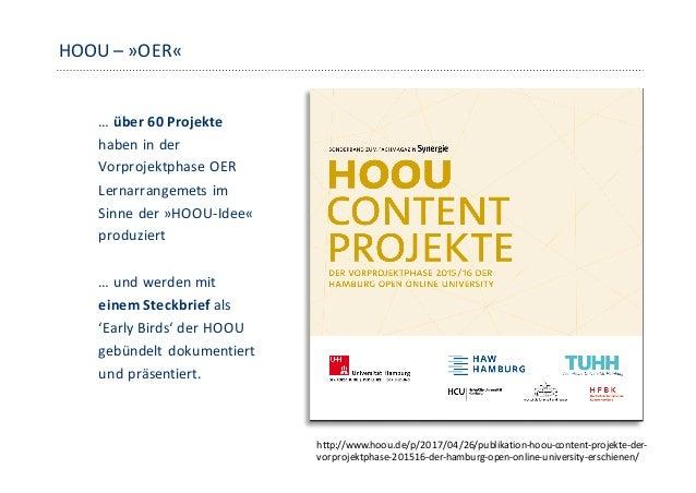 Der HOOU-Blog Die HOOU und ihre Projekte auf hoou.de