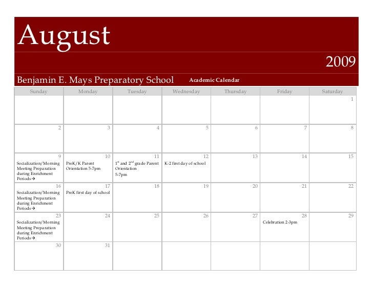 August                                                                                                                    ...