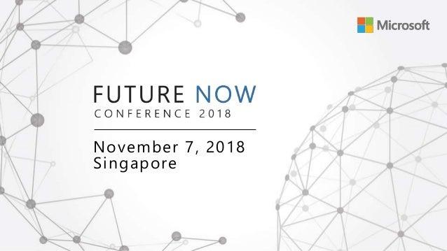November 7, 2018 Singapore