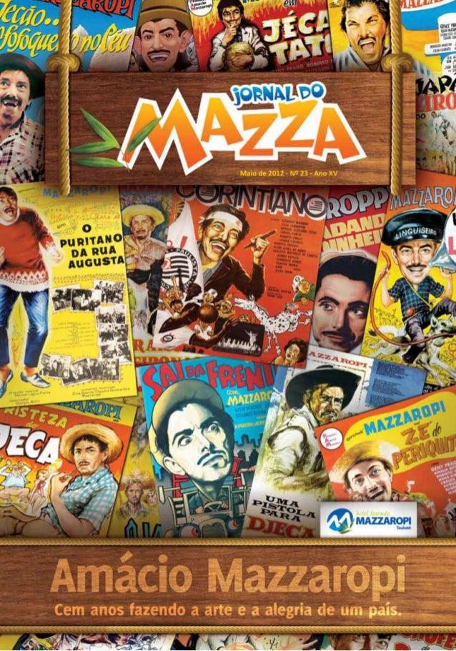 Jornal do Mazza - Maio 2012