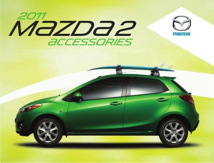 2012 Mazda2 Hatchback Parts And Accessories Brochure