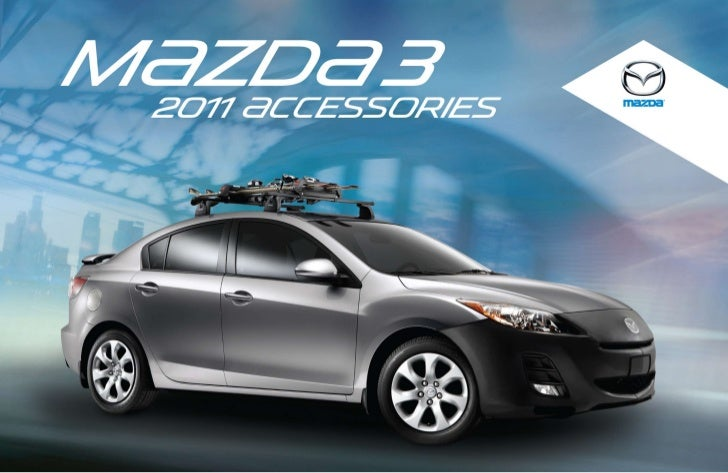 2012 Mazda3 Hatchback And Sedan Parts And Accessories Brochure Naple