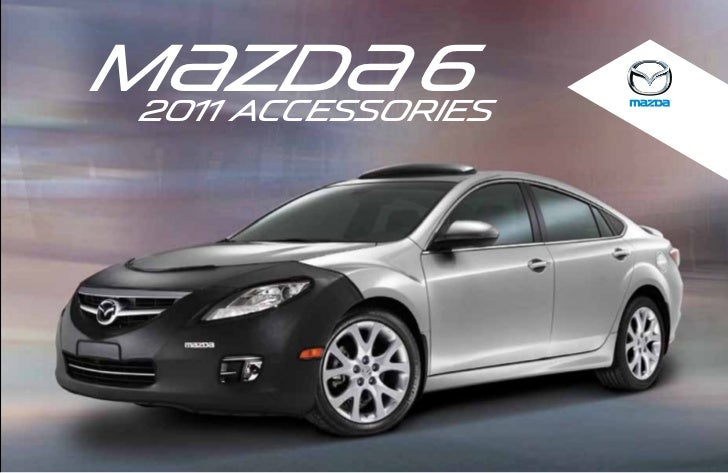 2012 Mazda6 Sedan Parts And Accessories Brochure Provided