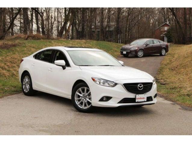 4. The 2014 Mazda6 ...