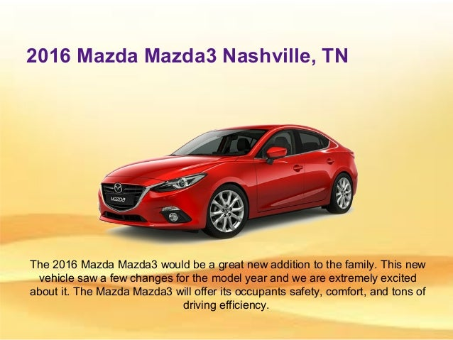 Nelson Mazda ...