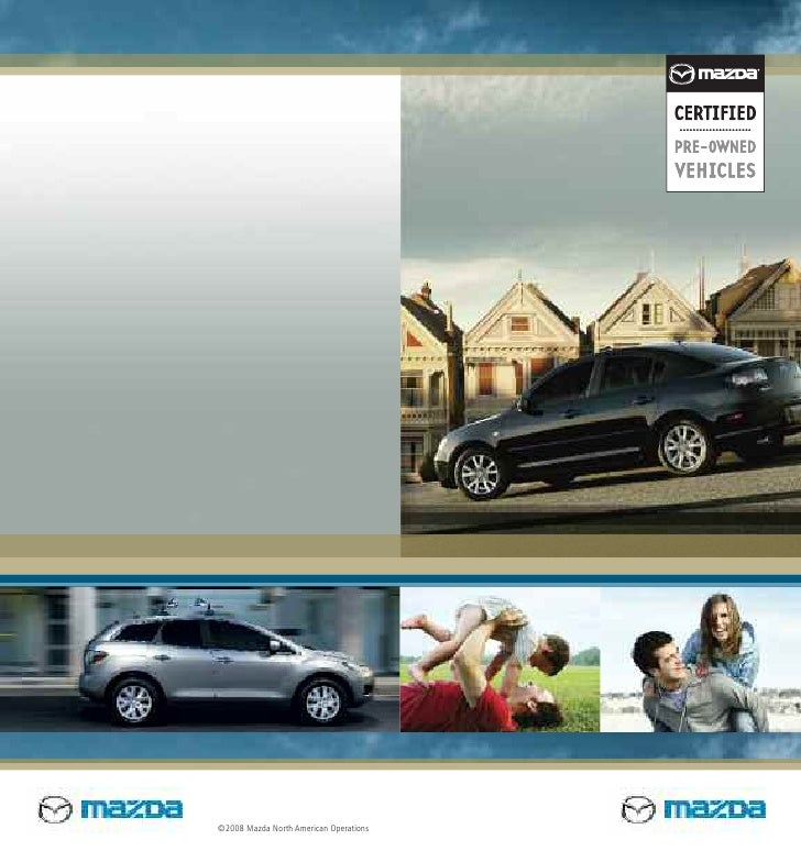 Used Cars Mesa Az >> Mazda Certified Pre Owned Used Cars Cpo Brochure From