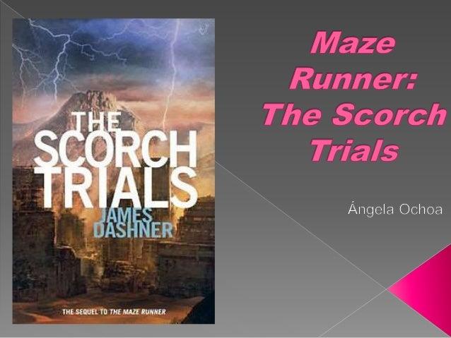 Runner trials book scorch maze