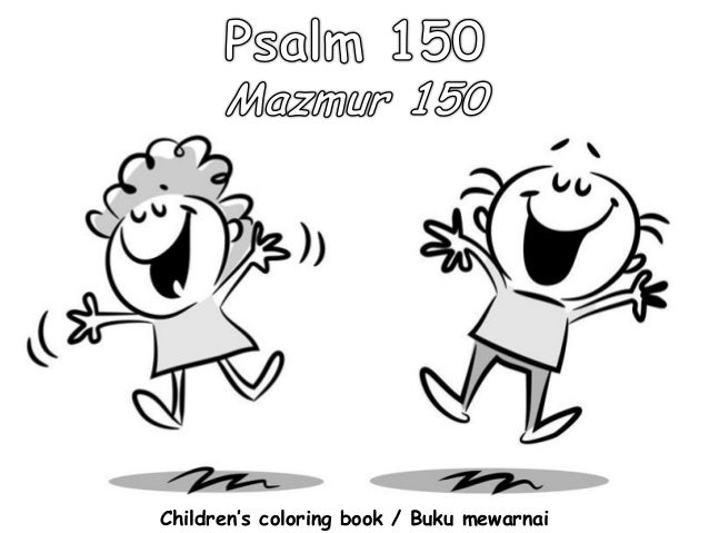 Children's coloring book / Buku mewarnai
