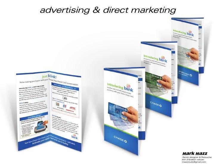 advertising & direct marketing                                      Mark Mazz                                  Senior desi...