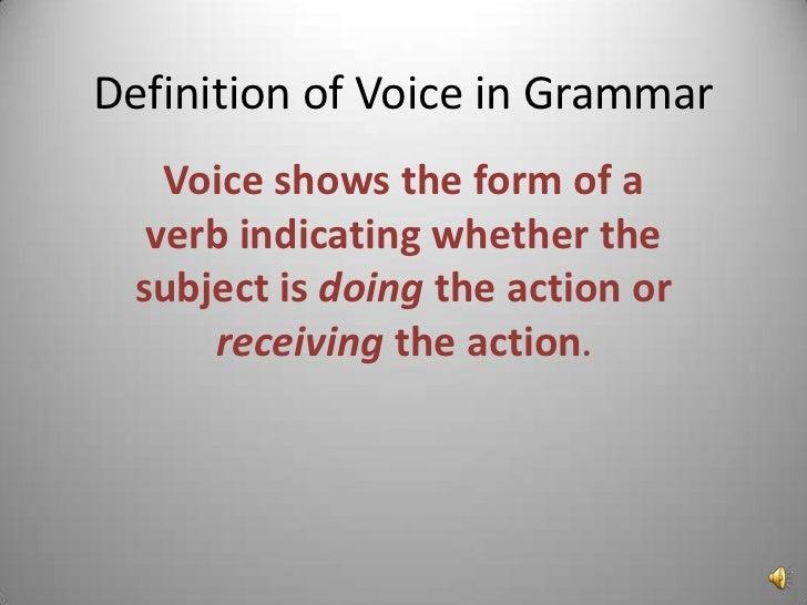 Mazzolla Grammar Lesson Passive