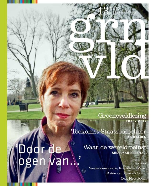 13     2013                            magazine over het verbinden                            van stad en land            ...