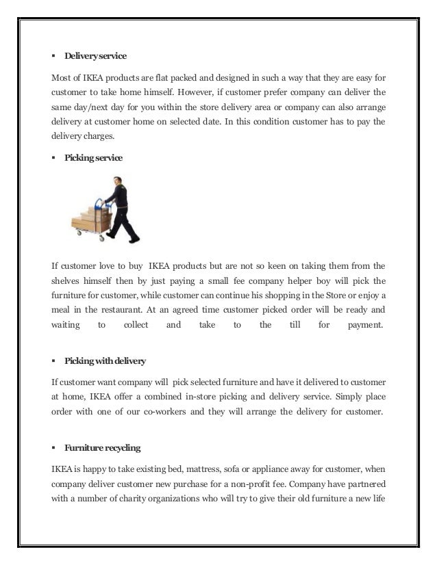 ikea operation management essay Critically evaluate the expected outcomes of your proposal and explain your reasoning recommend any additional techniques you could implement to further improve the.