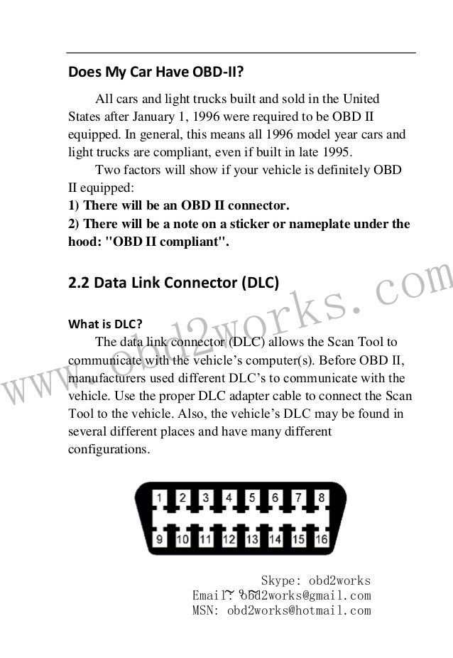 Mb880 CAN BUS manual-How to Use MB880 CAN BUS Auto Scanner