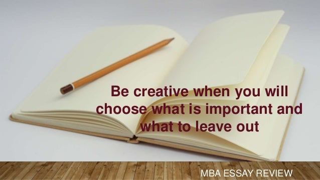ways to write good mba essay mba essay review