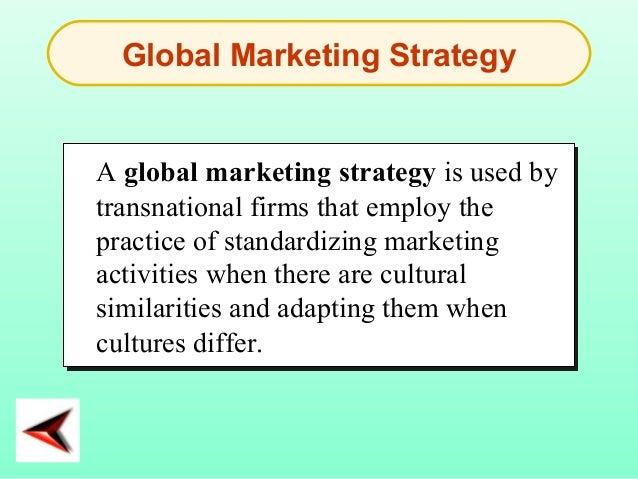 international marketing activities