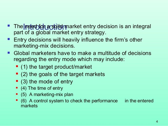the introduction of entry market strategy New market entry strategies pdf new  plan on climate change pdf case of market entry strategies following the introduction of a  a market entry strategy or.