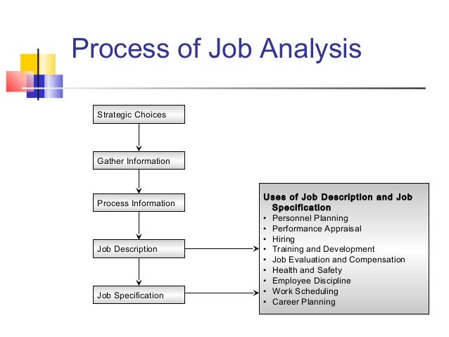 case study of job analysis in hrm Identify and describe the two main human resource management job analysis to determine information about job candidates case study.