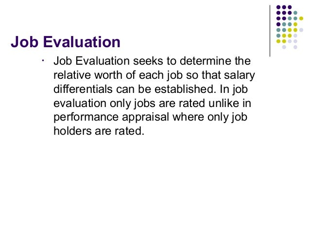 job evaluation a cornerstone to hrm Traditional job analysis: an overview and re-evaluation 21  change, contribute  to improved human resource management, and be cost  the cornerstone of  such techniques lies in the ability of the organization to successfully predict, and.