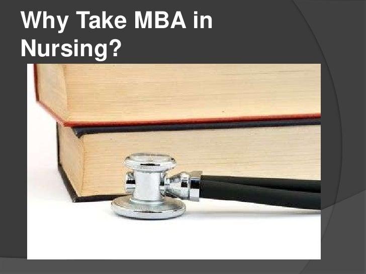 Why Take MBA inNursing?