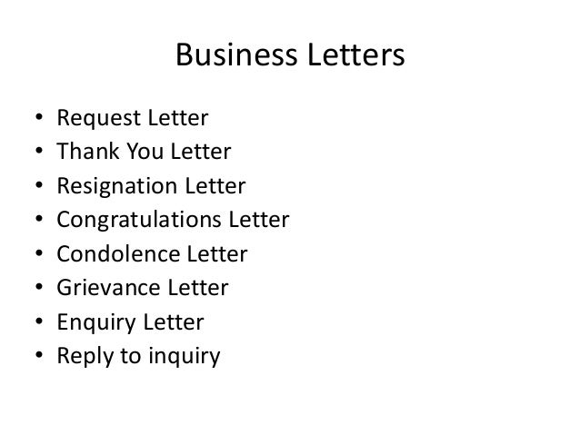 Mba sem-2-unit 3 business letters