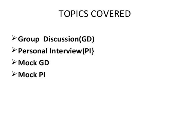 Group Discussion Topics with Answers