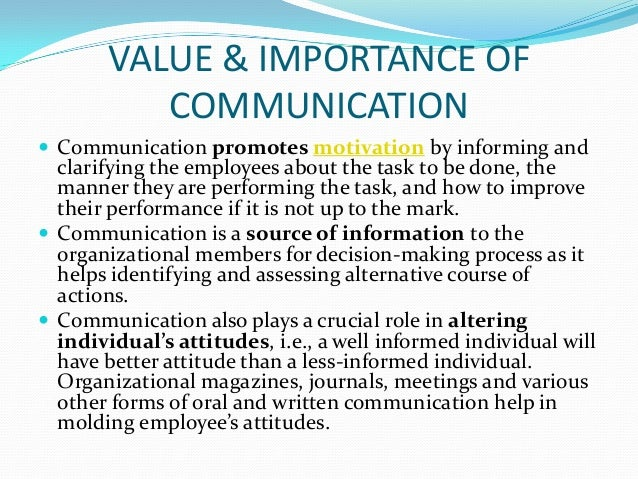 value of communication skills in the Hone these sales communication skills to be a better  good communication is crucial to  you can't make a sale unless you've demonstrated value to a.