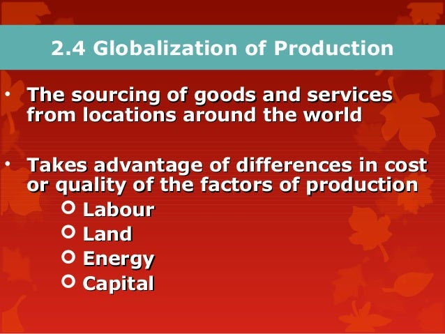 global economic environments Globalisation and the environment the rules of the global economy must offer equitable opportunity and access for all countries and recognize the diversity in.