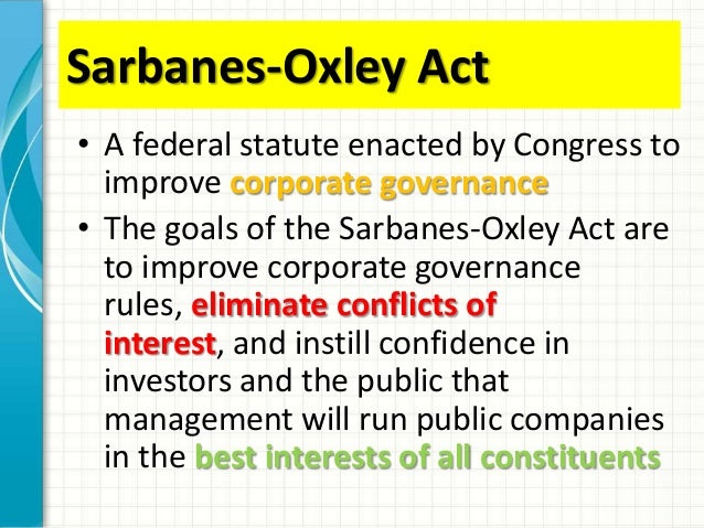 week 5 law 421 sarbanes oxley act Law 421 week 2 contract law drafting exercise  law 421 week 4 sarbanes oxley act presentation $ 999 add to cart law 421 week 5 business creation and succession .