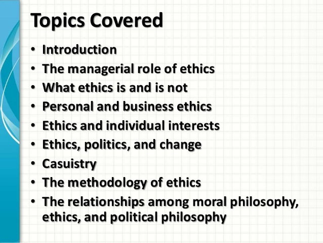 introduction to business law and ethics