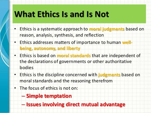 Law and reflective ethics