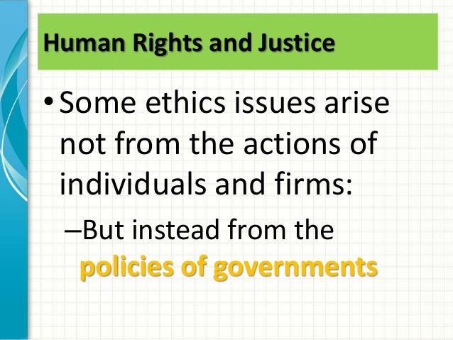 business ethic issues in developing countries Ethics as a building block of economic growth: global insights and indian country models  from developing countries and highlights some model ethics infrastructure .