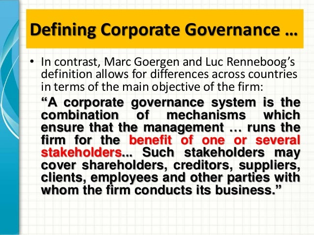 legality and ethicality of corporate governance Legality and ethicality of corporate governance eth376 legality and ethicality of corporate governance united thermostatic controls is a publicly o.