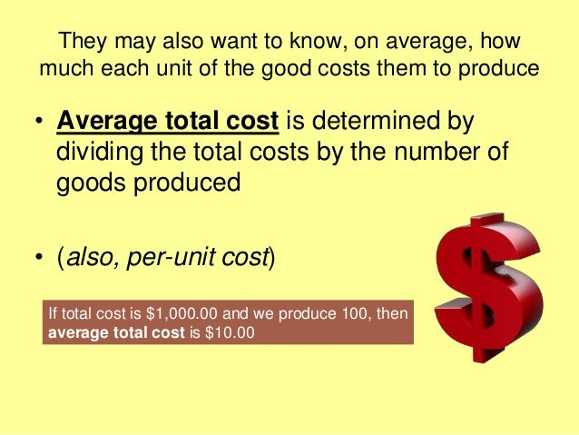 Mba 1 me u 2.1 business costs and revenues Slide 3