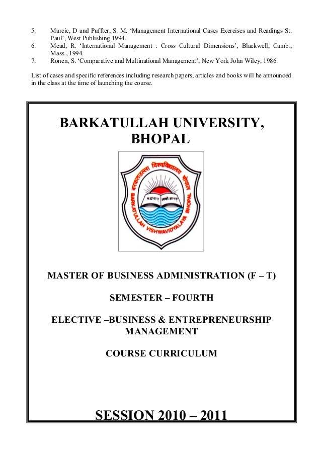 Buopal mba syllabus fandeluxe Choice Image