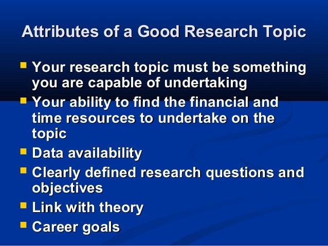 business research topics for college students