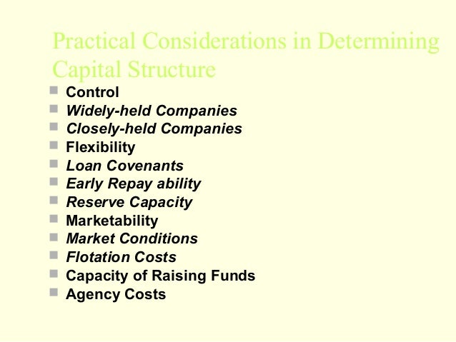practical considerations firm s capital structure Home practice areas fund finance fund finance 2018 side letters: pitfalls and perils for a  to payment of such capital practical considerations  firm's.