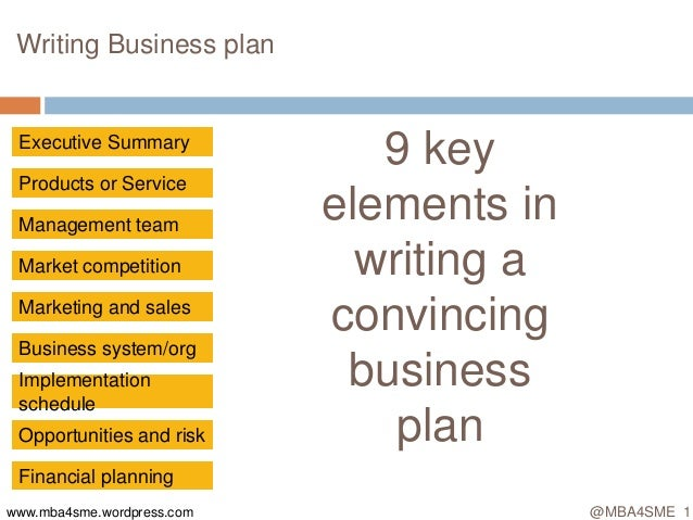 Sales literature business plan example