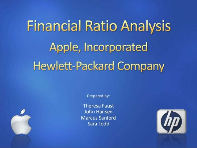 apple inc financial ratio analysis essay Apple incapple inc - financial and strategic analysis review publication date: 18-feb-2011 reference code: gdtc27353fsa co.