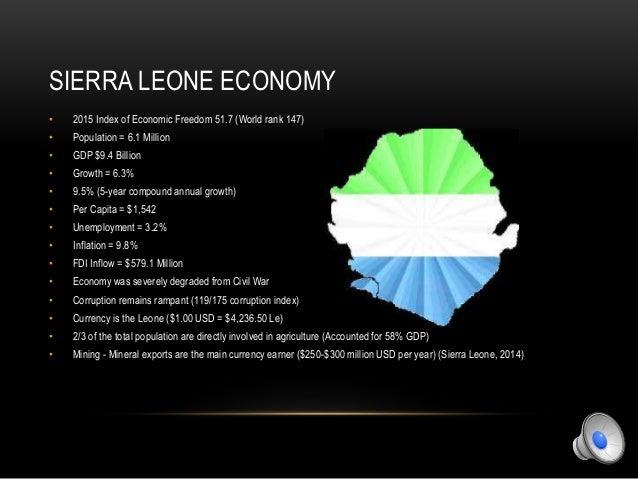 Economy of Sierra Leone